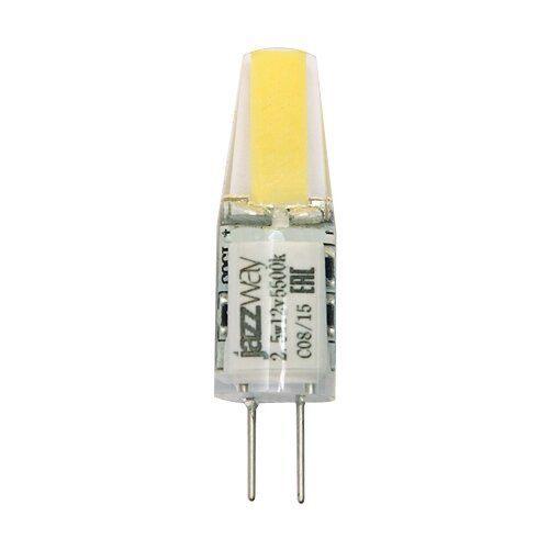 Фото - Лампа светодиодная jazzway 2855770, G4, G4, 2.5Вт лампа светодиодная jazzway pled g4