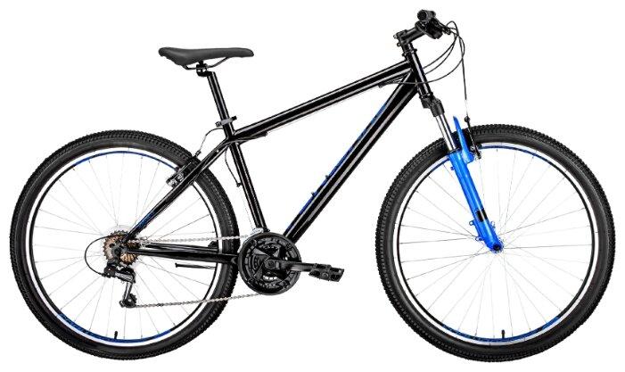Горный (MTB) велосипед FORWARD Sporting 27.5 1.0 (2019) рама 15 синий