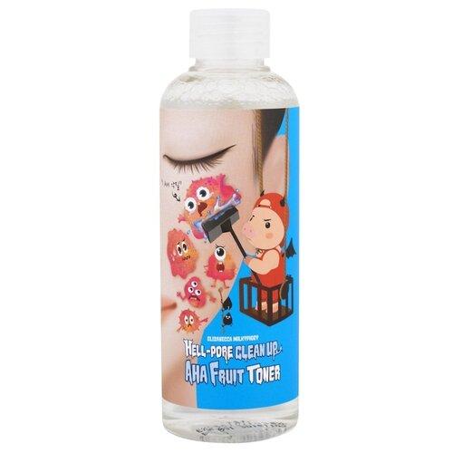 Elizavecca Тонер Milky Piggy Hell-Pore Clean Up AHA Fruit 200 мл