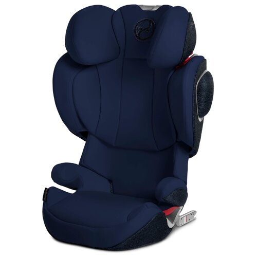 Автокресло группа 2/3 (15-36 кг) Cybex Solution Z-Fix, Midnight blue renolux автокресло serenity midnight