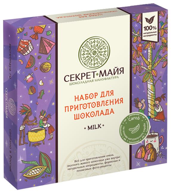 Набор для приготовления шоколада Секрет Майа Milk Carob 365 г