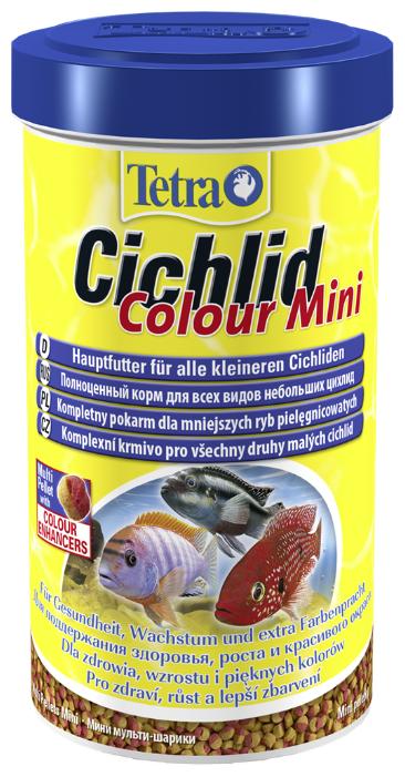 Сухой корм Tetra Cichlid Colour Mini для рыб
