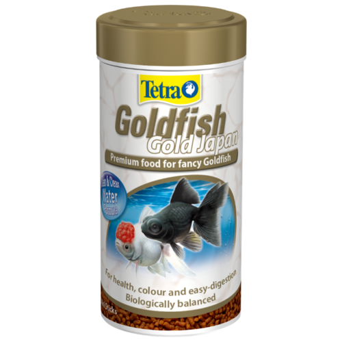 Сухой корм для рыб Tetra Goldfish Gold Japan 250 мл сухой корм для рыб tetra goldfish 10000 мл