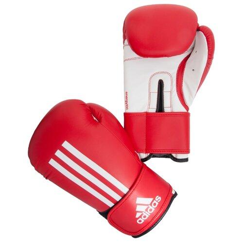 Боксерские перчатки adidas Energy 100 красный/белый 14 oz