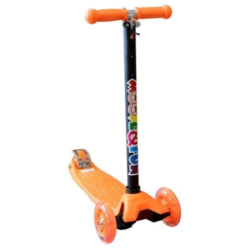 Кикборд Moove&Fun MF-MX17 оранжевыйСамокаты<br>