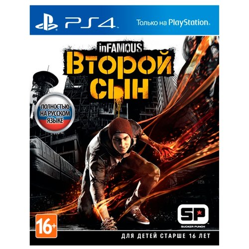 Игра для PlayStation 4 InFamous: Second Son joanna wayne the second son