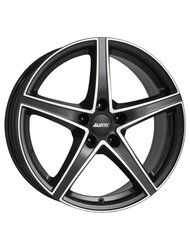Диски Alutec Raptr 7,5x18 5x112 D66.5 ET52 цвет Racing Black Double Lip Polished - фото 1