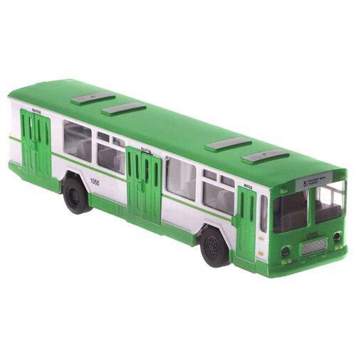 Автобус ТЕХНОПАРК BUS-RC 24 см зеленый/белый технопарк автобус технопарк аэропорт 18 5 см