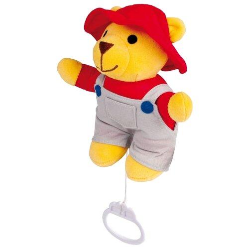 Купить Мягкая игрушка Canpol Babies Мишка-мальчик в комбинезоне и шляпе 28 см, Мягкие игрушки