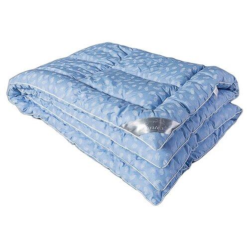 цена на Одеяло DREAM TIME Лебяжий пух, теплое, 172 х 205 см (голубой)