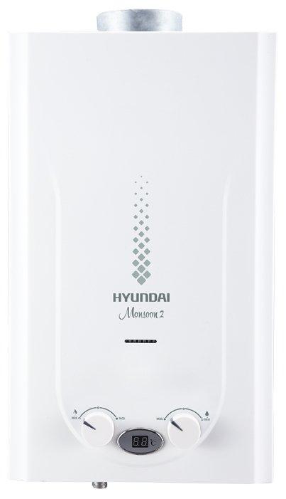 Проточный газовый водонагреватель Hyundai H-GW2-ARW-UI308