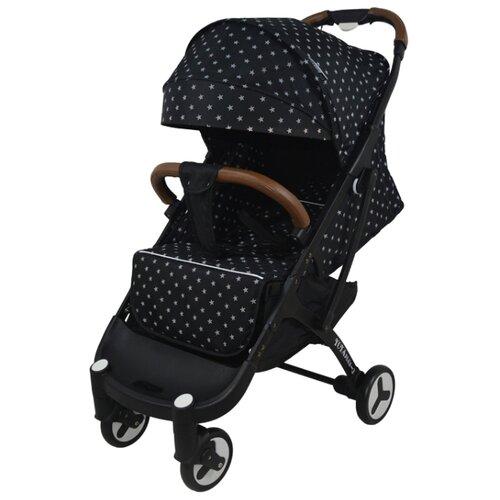 Купить Прогулочная коляска Yoya Plus 3 star/black frame, цвет шасси: черный, Коляски