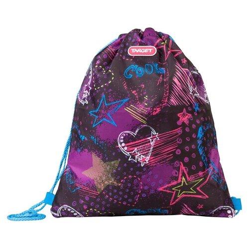 Купить Target Сумка для детской сменной обуви Freak out (21389) розовый/фиолетовый, Мешки для обуви и формы