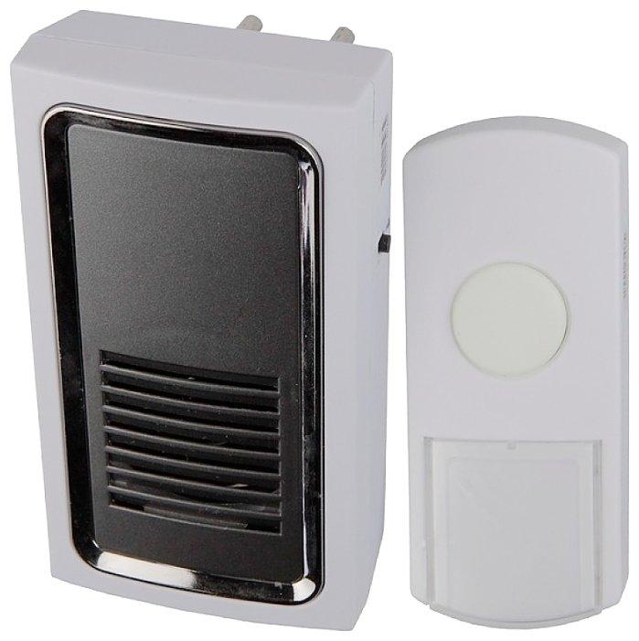 Звонок с кнопкой ЭРА C96 электронный беспроводной (количество мелодий: 6)