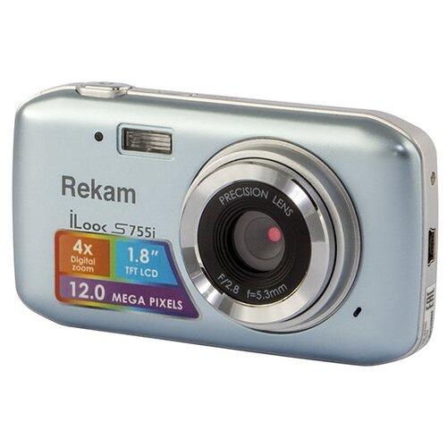 Фото - Фотоаппарат Rekam iLook S755i metallic gray фотоаппарат rekam ilook s990i black