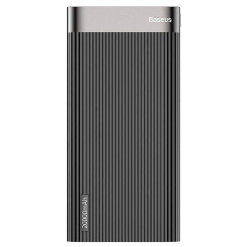 Аккумулятор Baseus Parallel PD Power Bank 20000mAh черный коробка rivacase va2070 20000mah qc pd черный