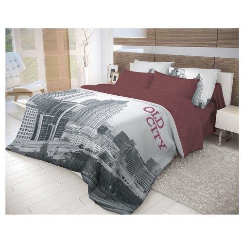 цены Постельное белье 2-спальное Волшебная ночь Old City 702190 ранфорс серый/фиолетовый