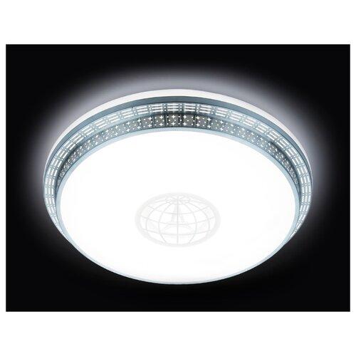 Светильник светодиодный Ambrella light F128 WH SL 72W D500 ORBITAL, LED, 72 Вт светильник светодиодный ambrella light fs1232 sd 48w d480 orbital led 48 вт