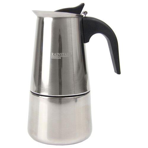Гейзерная кофеварка Rainstahl 8800-06RSCM (6 чашек), стальной