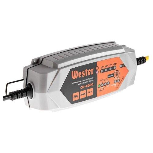 Зарядное устройство Wester CD-4000 серый