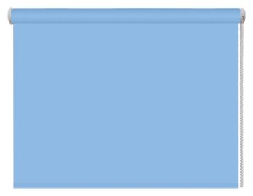 Рулонная штора DDA Универсальная однотонная (голубой)