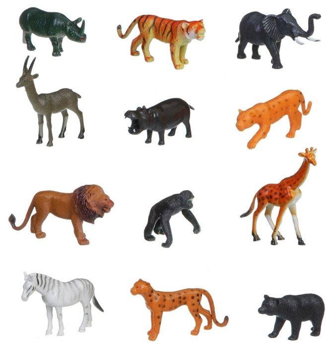 BONDIBON Ребятам о Зверятах - Животные джунглей ВВ1608