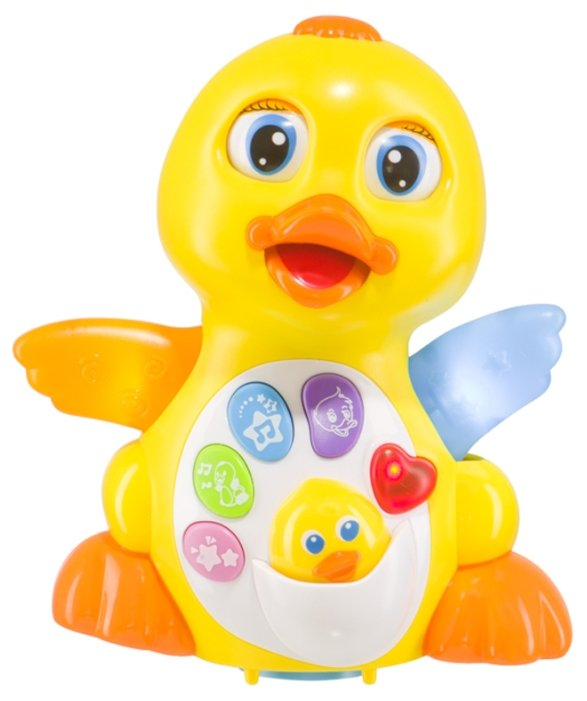 Интерактивная развивающая игрушка Happy Baby Quacky 331841