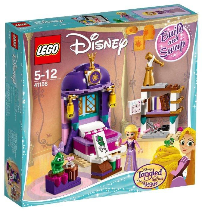 Конструктор LEGO Disney Princess 41156 Спальня Рапунцель в замке — купить по выгодной цене на Яндекс.Маркете