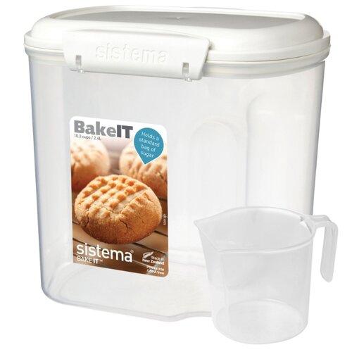 Фото - Sistema Контейнер с чашкой BAKE-IT 1240, 13x18 см, прозрачный sistema контейнер с чашкой bake it 1250 13x17 5 см прозрачный