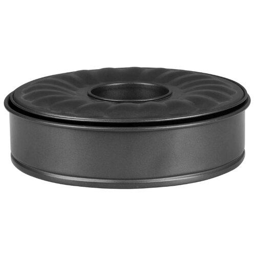 Форма для выпечки стальная Bekker 3936-BK, 2 шт. (26х7 см) черный