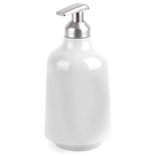 Дозатор для жидкого мыла Umbra Step для жидкого мыла белый umbra декоративные цветы umbra delica для стен белый 8 элементов 8pu mi do