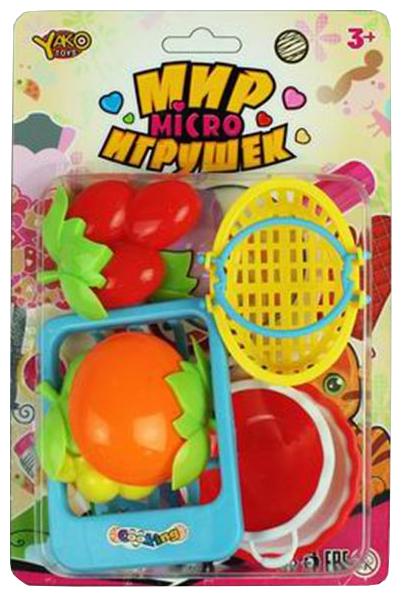 Набор продуктов с посудой Yako Мир micro Игрушек M6344-1