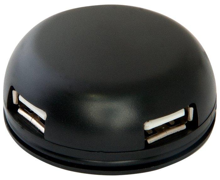 USB-концентратор Defender Quadro Light (83201) разъемов: 4