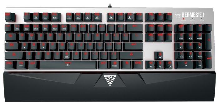 GAMDIAS Клавиатура и мышь GAMDIAS HERMES E1 COMBO Black USB
