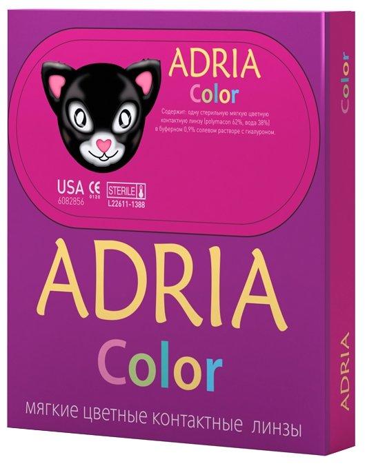 Контактные линзы Interogio Adria Color 1 tone LAVENDER 00.00 R=8.6