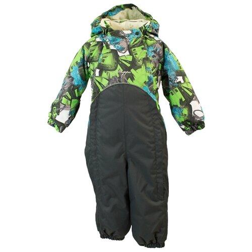 Комбинезон Huppa Golden 36080010-804 размер 74, 80407 green pattern/ dark gray outdoor checked pattern artificial wool fringed shawl scarf