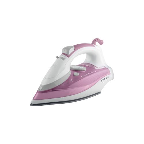 Утюг Scarlett SC-SI30K27 розовый/белый/серый утюг scarlett sc 135s