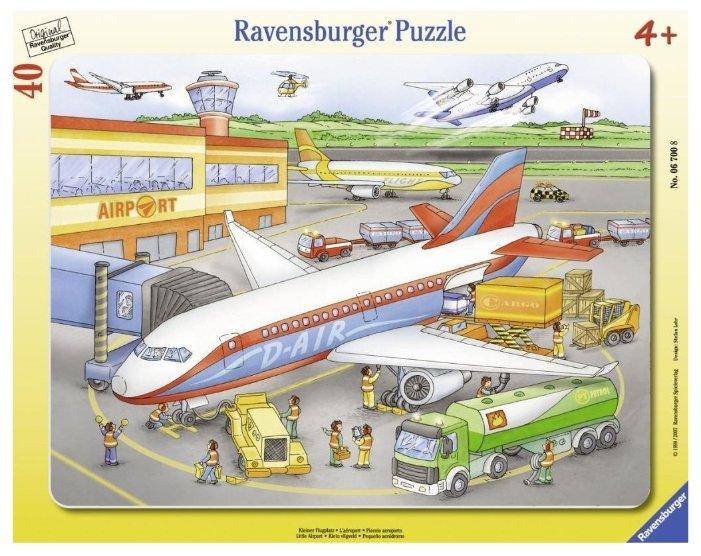 Пазл Ravensburger Маленький аэропорт (06700), 40 дет.
