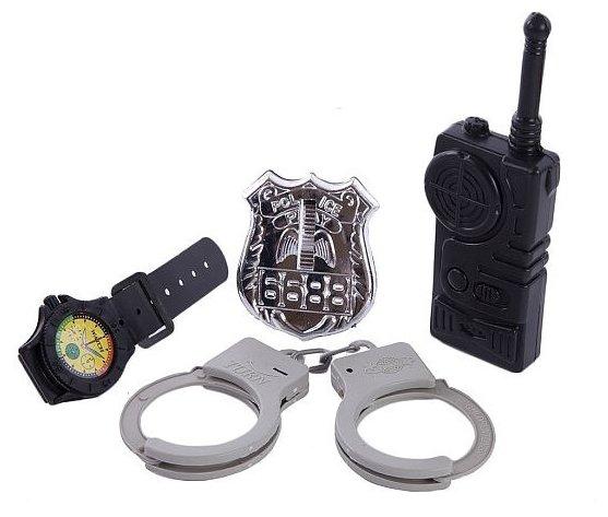 Игровой набор Little Zu Полицейский 90036C