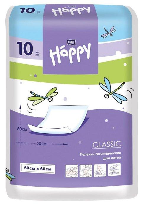 Одноразовые пеленки Bella Baby happy Classic 60х60