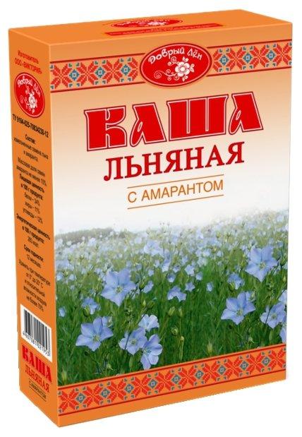 Добрый лён Каша льняная с амарантом, 400 г