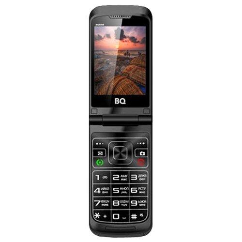 Телефон BQ 2807 Wonder черныйМобильные телефоны<br>