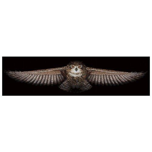 Купить Сделай своими руками Набор для вышивания крестиком Сова 85 х 18 см (С-44), Наборы для вышивания