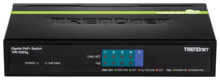 TRENDnet Коммутатор TRENDnet TPE-TG50g