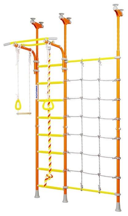 Шведская стенка ROMANA Karusel R3 ДСКМ-3-8.06.Г1.490.18-28 (белый прованс)