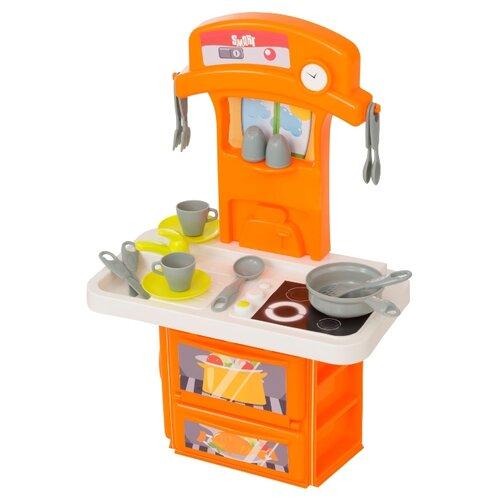 Кухня HTI Smart 1684081.00 оранжевый/белый