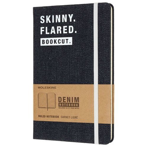 Купить Блокнот Moleskine Skinny 130х210, 120 листов 474942(LCDNQP060S), Блокноты
