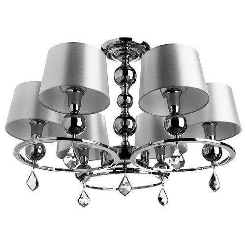 Люстра Arte Lamp Promessa A3074LM-6CC, E14, 240 Вт люстра arte lamp camomilla a6049pl 6cc e27 240 вт