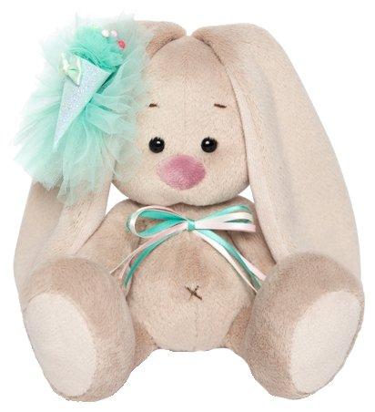 Мягкая игрушка Зайка Ми с изумрудным мороженым 15 см