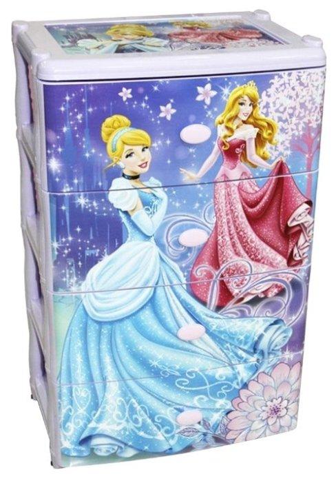 Бельевой комод Альтернатива Принцессы Disney M2222